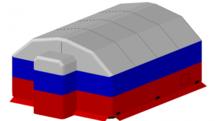 Пневмокаркасные модули Фрегат ПКМ Ф-10 с тамбуром