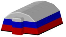 Пневмокаркасные модули Фрегат ПКМ Ф-30 с тамбуром