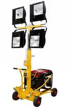 Осветительная установка ПОУ-4*400М-5,0М-5,0 GX «Валли» с бензиновым генератором