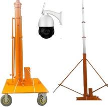 Мачта видеонаблюдения с передачей видеосигнала онлайн по GSM каналу в аренду