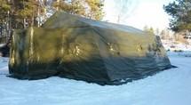 Палатка Военная АБ-ПВ-30М-2 ПВХ (зимняя двухслойная)