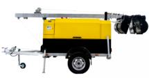 Передвижная осветительная установка ПОУ-4*1000М-9.0М-10.0GXD с дизельным генератором