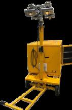 Автономная передвижная прожекторная станция с кожухом АППС-4х100LED-4Л-2.2GX-К