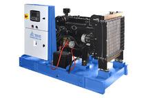"""Генератор 10 кВт """"Аргус-Дизель"""" с жидкостным охлаждением 220В АД-10С-230 в открытом исполнении на раме"""