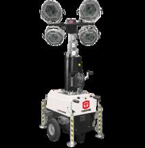 TRIME X-Chain 4x150W LED - 7M - ATEX электрическая осветительная мачта
