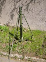 """Пневматическая телескопическая мачта Т 12-510 с ручным насосом серии """"Т"""""""