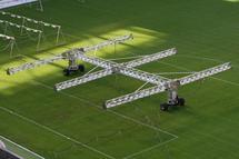 Системы искусственного досвета для газонов спортивных объектов