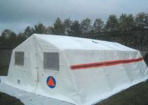 ПКС-43 каркасная палатка двухскатная