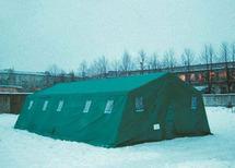 ПКС-55 каркасная палатка двухскатная
