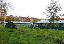 ПКС-72 каркасная палатка четырехскатная