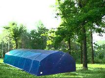 ПКС-95 каркасная палатка четырехскатная