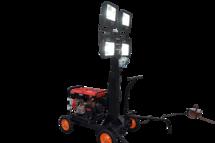 """Мобильная осветительная установка класса """"Агрус-Одиссей"""" со встроенным генератором МОУ-5Л 4х400(МГЛ) 5,0(БГ) (полный аналог Wacker Neuson ML440)"""