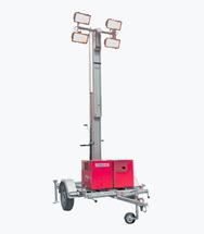 Мобильная осветительная мачта EFA 650 S4 с дизельным генератором