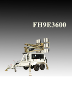 Передвижная мобильная осветительная установка в корпусе Tower на базе двигателя Kubota с мачтой FH9-E3600 BaiFa