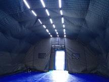 Стенной утеплитель для пневмокаркасных палаток ПКП-А28