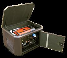 """Кожух """"Аргус-М"""" для генератора утепленный с подогревом и принудительной вентиляцией, размер M"""