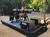 Салазки карьерные с дизельным генератором Аргус (сани-волокуши с электростанцией ДГУ) для месторождений и рудников