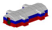 Переходные пневмокаркасные модули