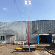 Передвижная осветительная установка ПОУ-3м с дизельным генератором