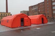 Палатка арочная пневмокаркасная А-ПКП-А27 Азарт