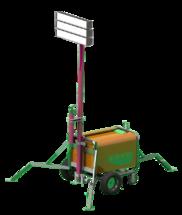 Комплекс осветительный КО-2400М с генератором