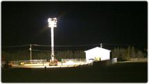 Мобильная осветительная установка МОУ-4*300(с)-9(эл)-16кВт(гд)-ПК