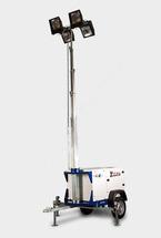 Осветительная мачта ITL 4080MHH 8.6m 4x1000W с дизельным генератором