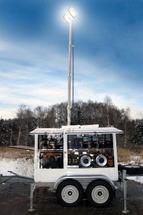 Мобильно Осветительный Комплекс МОК-ЧС на базе специального двухосного прицепа 821711-085