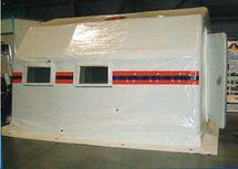 Пневмокаркасный модуль, надувная палатка МПМ-12