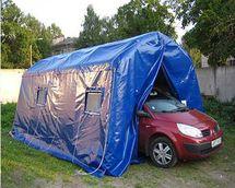 Пневмокаркасный модуль, надувная палатка МПМ-18