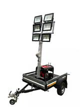 Передвижная осветительная установка ПОУ-6х250LED-5,5М-3,0 GXD с дизельным генератором
