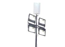 Мобильная осветительная установка с гибридным (спаренным) оголовником Одиссей-1-ЧС Облегченная МОУ-5Л 600(ДНаТ)+4х100(С) 3(ДГ)