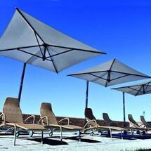 Зонт уличный для кафе, ресторанов, загородных домов и мероприятий Аргус-Зонт 4х4 усиленный металлический