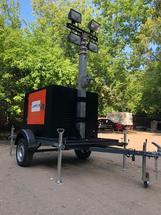 Передвижная осветительная установка  «Аргус-Прометей» ПОУ–9,0Л 4х1000(Г) 7,5(ДГ)