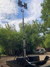 Сани-волокуши Аргус осветительные  (СВО)-9м(Л)-4х300Вт(LED)