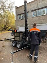 МБС мобильная базовая станция сотовой связи - передвижной компекс связи Аргус-20