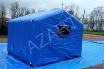 Палатка двухскатная пневмокаркасная А-ПКП-А9 Азарт
