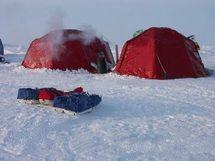 Арктика-7 металлокаркасная полярная палатка