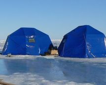 Арктика-5 металлокаркасная полярная палатка