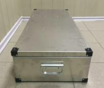 Алюминиевый кофр (кейс, ящик, РЭК) для хранения аппаратуры, техники или гардероба