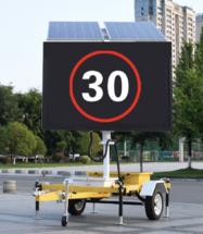 Татуин - мобильный автономный светодиодный экран на автомобильном прицепе для информирования и рекламы