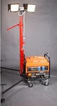 Аварийная осветительная установка ПОУ-2*120LED-5,0P-2,2GX-Валли с бензиновым генератором