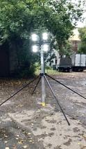 """Осветительная переносная мачта """"Аргус"""" со взрывозащищенными прожекторами ПМО-7(л)-4х100(с-ВЗР)"""